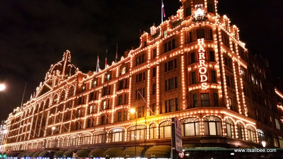 Harrods London - Top Things to Do in London During Christmas Holidays | Ice Rinks, Christmas Markets and Christmas Light...