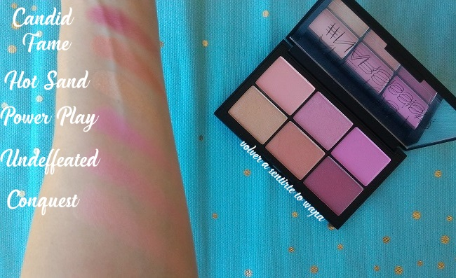 Paleta Unfiltered 2 de NARS - review & swatches
