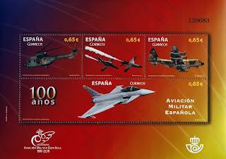 CENTENARIO DE LA AVIACIÓN MILITAR ESPAÑOLA