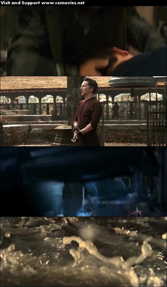 Doctor Strange 2016 Dual Audio Hindi 480p HDRip