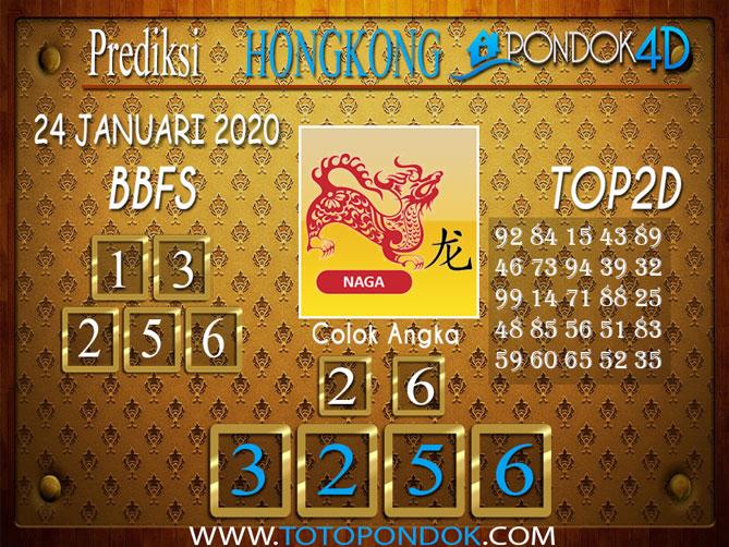 Prediksi Togel HONGKONG PONDOK4D 24 JANUARI 2020