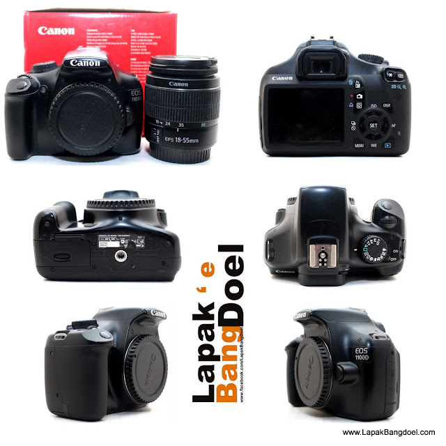 Canon 1100D + kit 18-55mm III