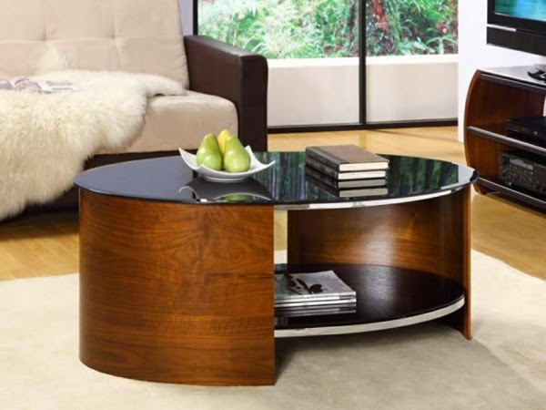 20 creative black coffee tables made of wood and glass raimund schuhmacher