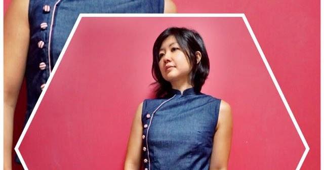 16a0f74c8 * * Sakura Haruka   Singapore Parenting and Lifestyle Blog * *: Singapore  Cheongsams :: Denim on Denim Modern Cheongsam for Mums & Kids + Promo Code