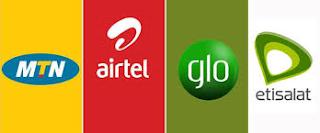 mtn, etisalat, airtel & glo internet settings