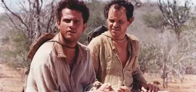 Os atores Selton Mello e Matheus Nachtergaele em cena de O Auto da Compadecida, da Globo