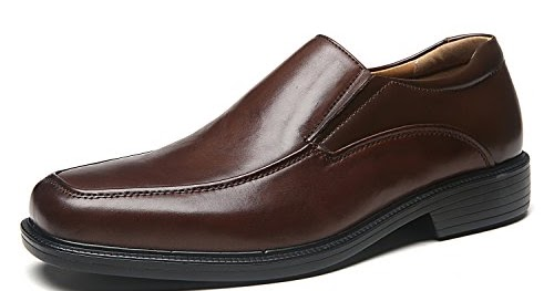 2d6b3080eaa La Milano Wide Width Men s Leather Dress Shoes Slip On Square Toe Loafer  Shoes Mens Comfortable Business Extra Wide Shoes EEE 2019 - La Milano Mens  usa