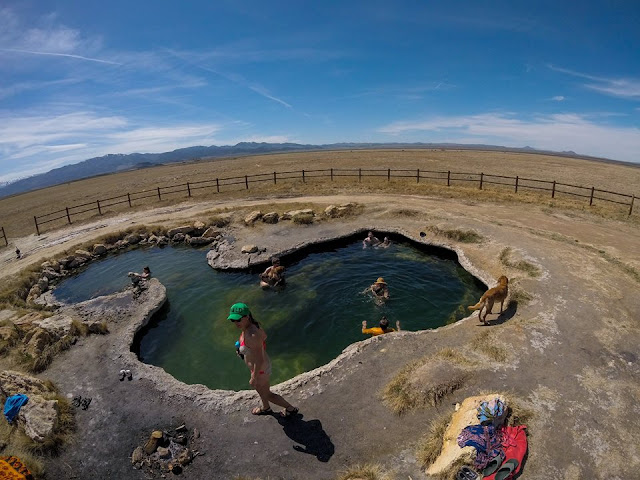 Meadow Hot Springs, Utah, Hot Springs in Utah, Dog friendly Hot Springs