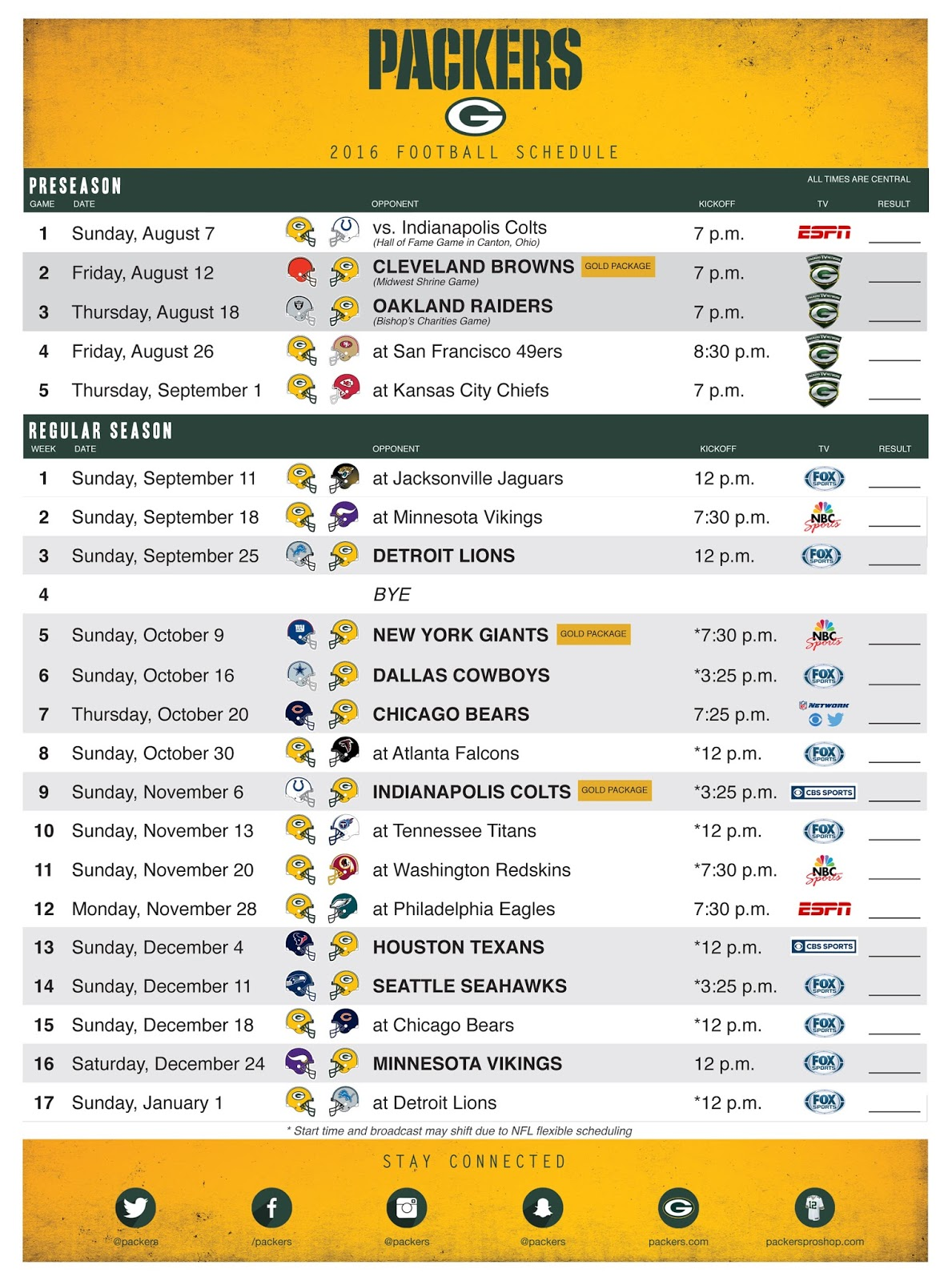 packers schedule photos - jen hill photo