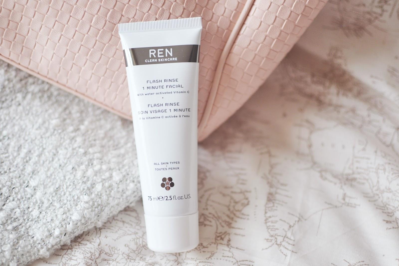 REN Flash Rinse 1 Minute Facial, REN Flash Rinse 1 Minute Facial review
