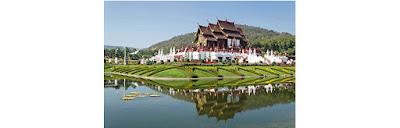 Source: Qatar Airways. View of Chiang Mai, Thailand.