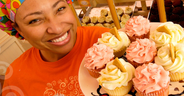 Mignon Francois, founder of The Cupcake Collection