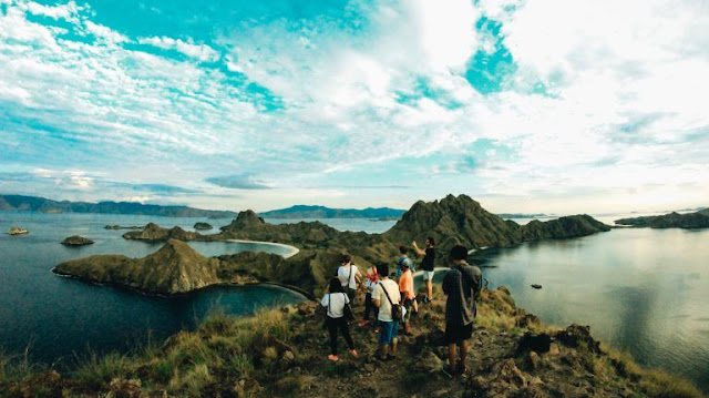 Spectacular Panorama of Padar Island