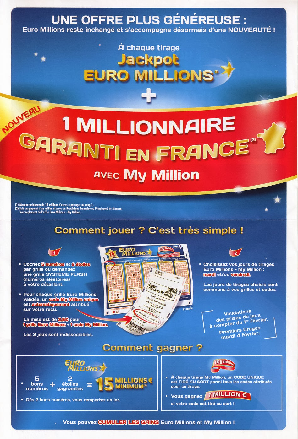 Euromillion tirage au sort