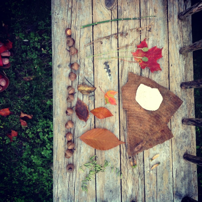 toddlers Leaf art