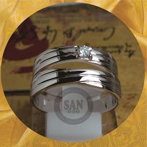 cincin emasputih paladium 5809