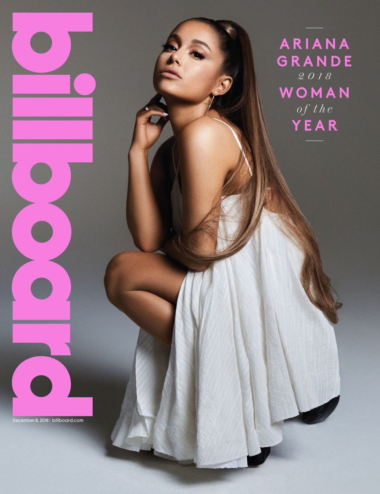 Ariana Grande is named Billboard Woman of the Year 2018