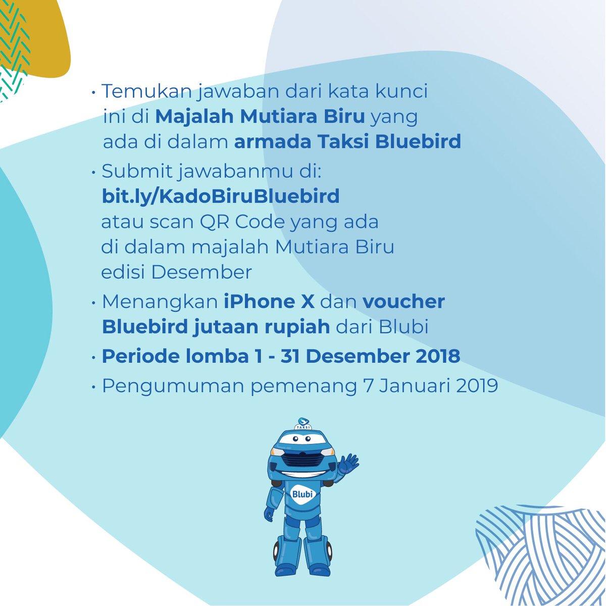 #BlueBird - Promo Kado Biru Tahun Baru Dapatkan IPHONEX