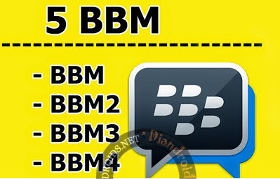 download BBM Mod Multi(BBM2+BBM3+BBM4) Clone Versi 2.12.0.11 Terbaru