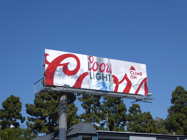Bikini billboard coors light variant