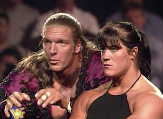 WWE/ WWF - In Your House 15: Hunter Hearst Helmsley (w/ Chyna) faced Flas Funk