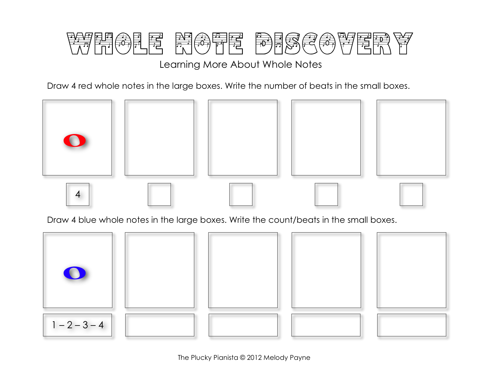 Whole Note Discovery