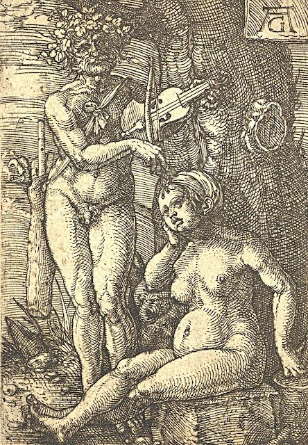 Heinrich Aldegrever: Orfeo e Euridice