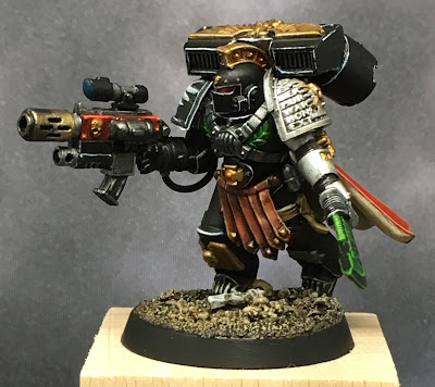 Deathwatch Watch Captain with Jumppack