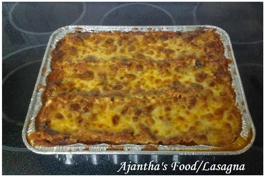 Ajantha's Food/Lasanga