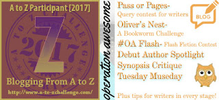 #AtoZChallenge 2017 Operation Awesome Z is for Zzzz