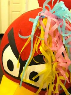 como hacer piñatas angry birds