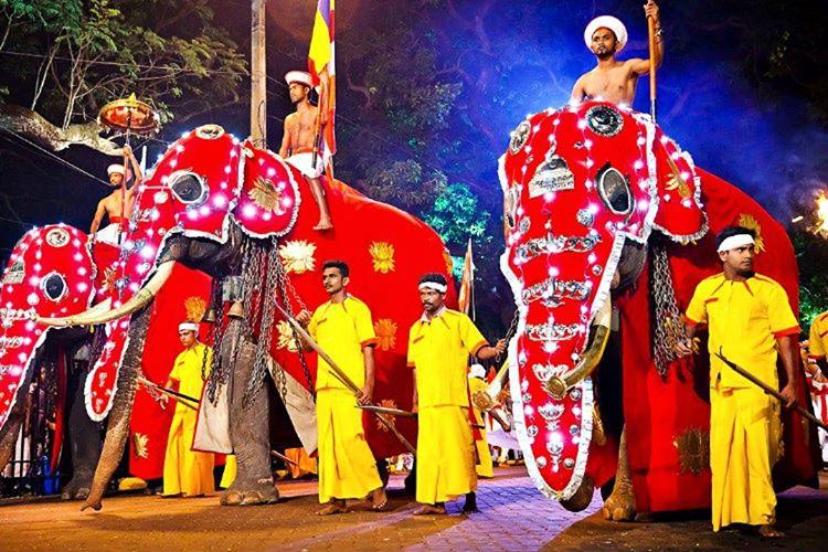 En güzel Sri Lanka fotoğrafları, çoğunlukla March Madness festivalleri başladığında çekilir.