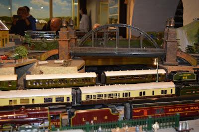 Brighton Toy and Model Museum Running Day, Hornby, Unique Marklin Bridge, Bassett-Lowke, Minic, Tri-Ang,