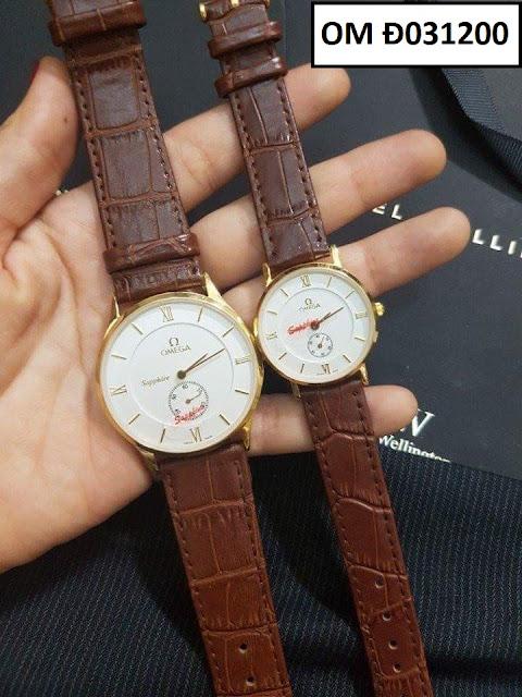 Đồng hồ dây da OM Đ031200