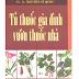 Tủ thuốc gia đình vườn thuốc nhà - GS.BS Nguyễn Sĩ Quốc