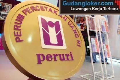 Lowongan Kerja BUMN Perum Peruri Republik Indonesia Besar-besaran