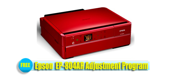 Epson  EP-804AR Adjustment Program