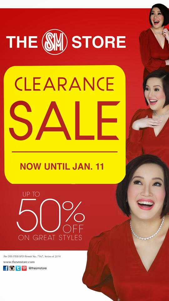 Manila Shopper The Sm Store Clearance Sale Jan 2015