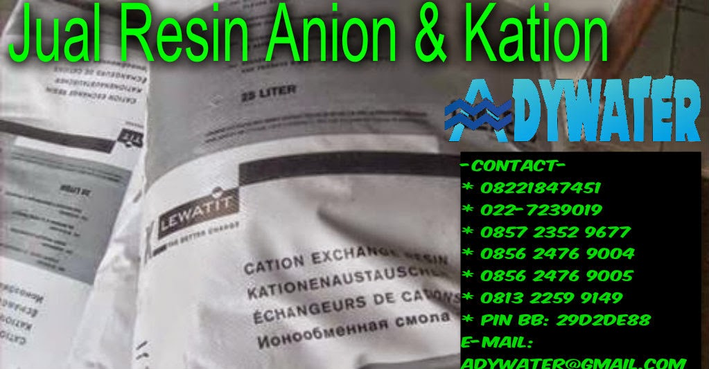 Jual Resin Kation - adywater.com
