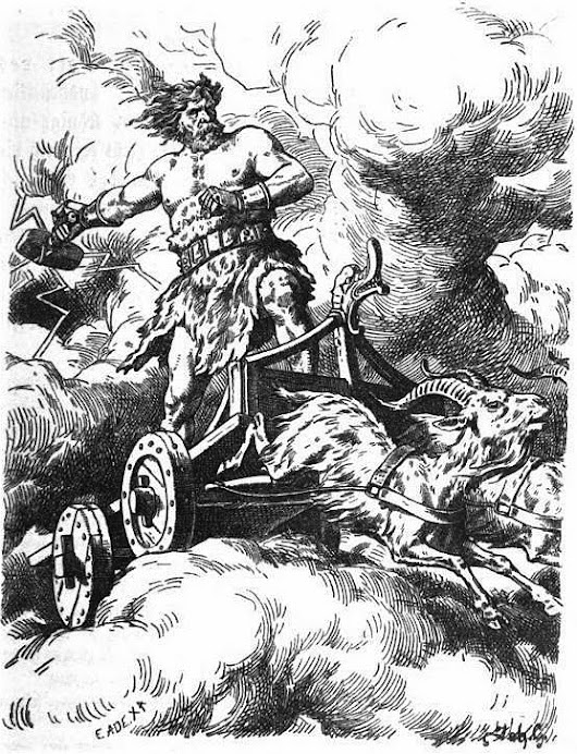 If you were born a 100 years ago your favorite Thor artist might have been Johannes Gehrts.