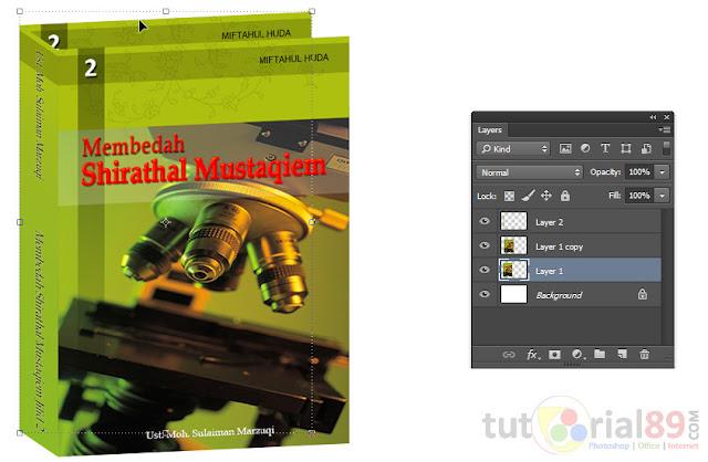 Hali itu pulalah yang menciptakan semakin pesatnya perkembangan e Cara menciptakan cover ebook 3D dengan photoshop