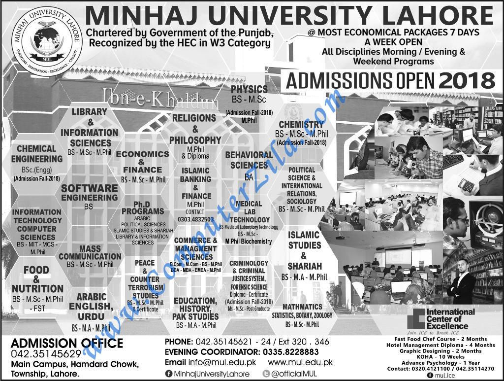 Fast University Lahore Campus Admission 2018 Bs Bba Mba – Fondos de