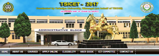 TS ICET-2017 Notification Apply Online Download Hall Tickets Results @tsicet.tsche.ac.in | Telangana ICET 2017 Notification Released by Kakatiya University on Behalf of Telangana State Council for Higher Education for the Academic Year 2017-18 in Telangana | Online Application for TS ICET 2017 is available at its Official Websites http://tsicet.tsche.ac.in http://tsicet.org http://kakatiya.ac.in http://tsche.cgg.gov.in Notification Eligibility Criteria Syllabus Mode of Examination Exam Dates Download of Hall Tickets and Results Important instructions Test Pattern view and Print submitted Application Form ts-icet-2017-notification-apply-online-download-hall-tickets-results-tsicet.org-application-form