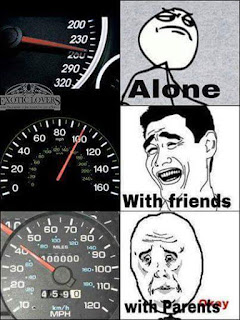 driving speed - Funny pic
