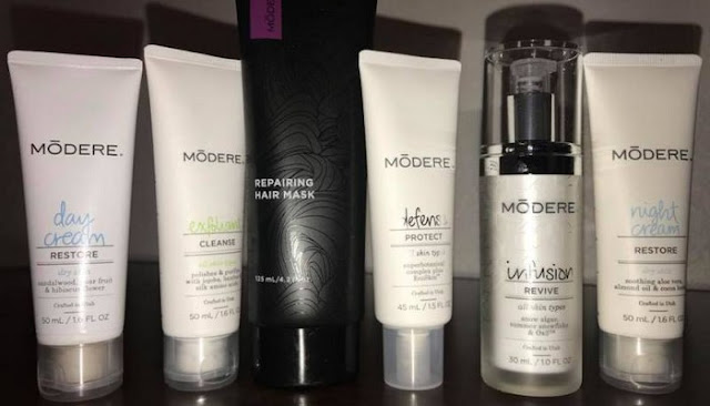 modere skin care product reviews