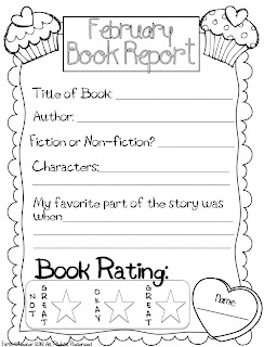 book report sheet for first grade This printable supports common core ela standard ccssela-literacyw11.