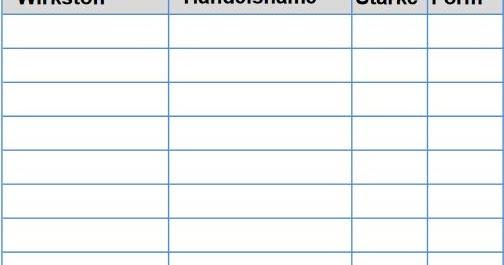 Medikamentenplan Excel Vorlagen Office Vorlagen