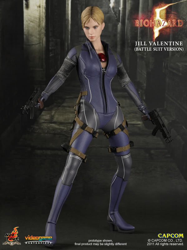My Love 4 Toys Hot Toys Re5 Jill Valentine Battle Suit