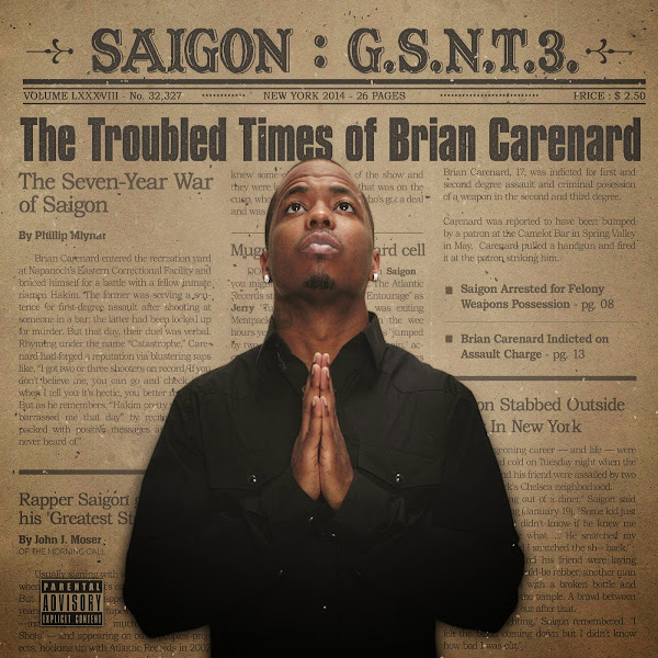 Saigon - GSNT 3: The troubled times of Brian Carenard  Cover