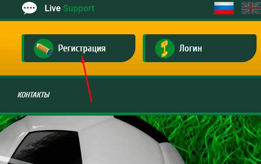 Регистрация в Sportvest Capital